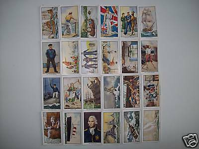 RJ HILL NAUTICAL SONGS 27 CARDS FROM SET OF 30, VERY GOOD CARDS 8,27,29, missing