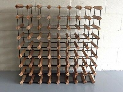 72 Bottle Timber Wine Rack - Complete Wine Storage Solution