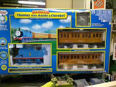 Bachmann Thomas the tank G scale 90068 Thomas with Annie & Clarabel train set