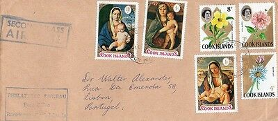 Cook Islands - Air Mail Cover, Christmas 1971