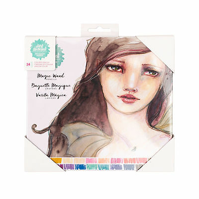 NEW Jane Davenport The Color Institute Magic Wand Color Pencils  24