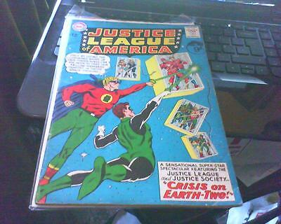 JUSTICE LEAGUE OF AMERICA 22 + FREE FOIL BALLOON 1st DC SERIES AMERICAN COMIC