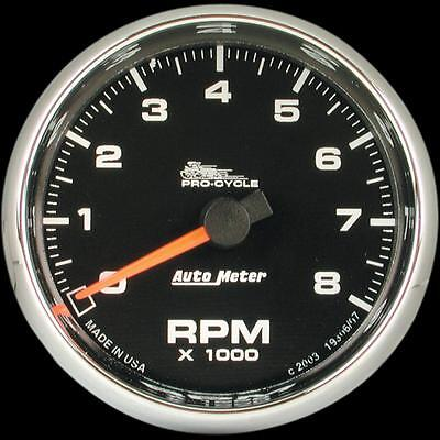 Auto Meter 19309 Electronic Tachometer 2 5/8in. Flame Face
