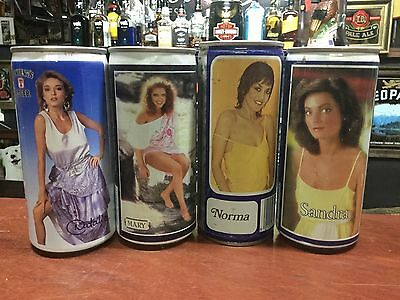 Tennent's Lager. 440ml. Tennent's Girls Collector Beer Cans x 4