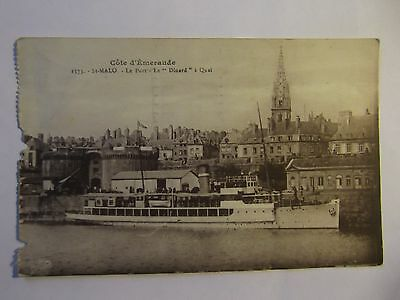 Postcard  Of St Malo-Posted 1935