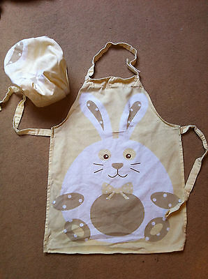 children's apron and chef's hat - age 3 and over