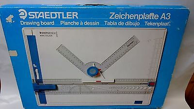 Staedtler 661-20-A3 Drafting Table+Box+Manual+Catalog Germany