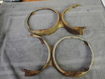 1960 Plymouth Headlight Surround Buckets Right and Left