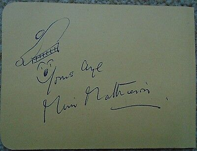 Muir Mathieson - Conductor - Composer - Signed