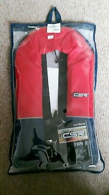 Red Life Jacket Csr 150N Automatic