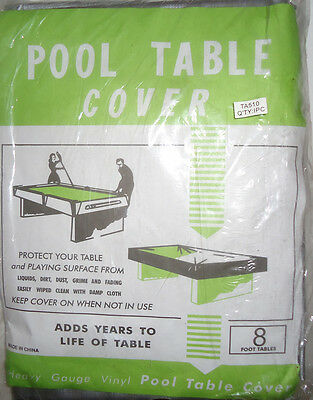 Brand New 8Ft Pool Table Cover -  Grey/silver Colour