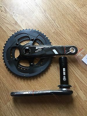 SRAM Force 22 Chainset 34/50 170mm BB30 NEW! Carbon.