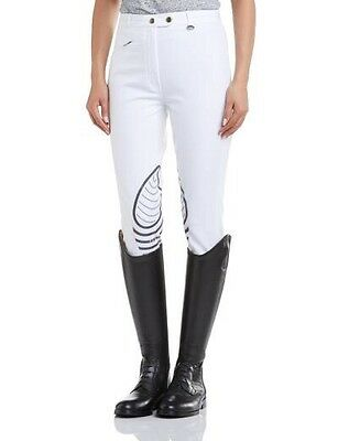 Tagg Ladies Jumptech Breeches Size 24 White