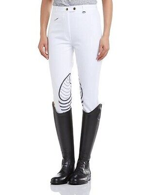 """Tagg Ladies Jumptech Breeches Size 26"""" White"""