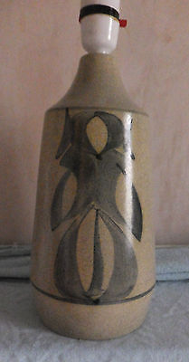 1960s Retro - Large Abstract Honiton Devon Pottery Lamp Base