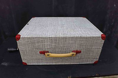 record player vintage portable wind up rare quality model.