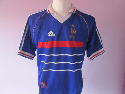 Maillot France 1998 Taille M Shirt football - ref13 98