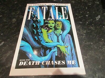 image paperback graphic novel fatale book one death chases me ed brubaker
