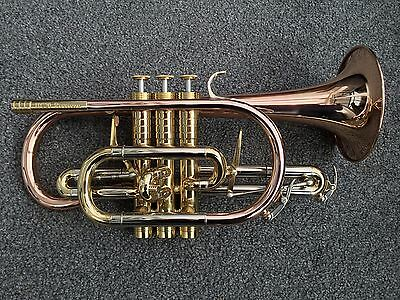 Catelinet HC-20 Rousseau Bb Cornet-#NEW#Large Bore, Pro Level Instrument-