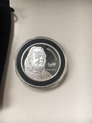 Brand New Silver Chumlee Coin 100% Authentic