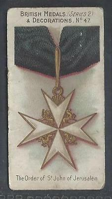 Taddy - British Medals & Decorations (Blue Back) - #47 The Order Of St John