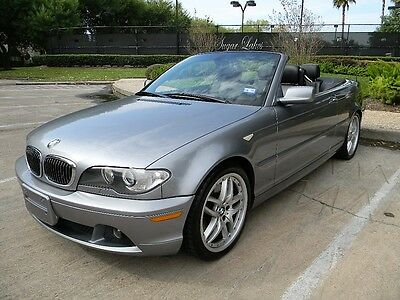 2006 BMW 3-Series Base Convertible 2-Door 2006 BMW 330Ci Base Convertible 2-Door 3.0L 75K miles Factory Navigation