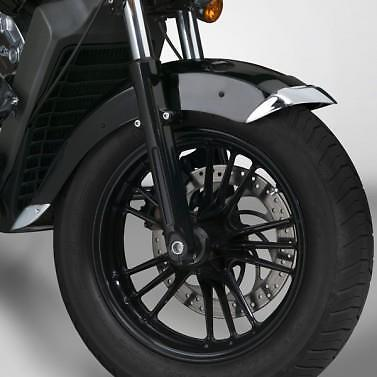 Indian Scout & Sixty National Cycle Front Fender Tips Chrome accent mud guard