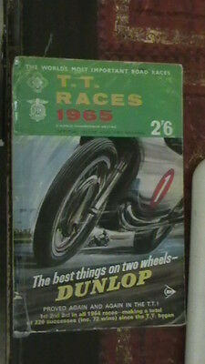 TT Races 1965 Official Guide and Programme