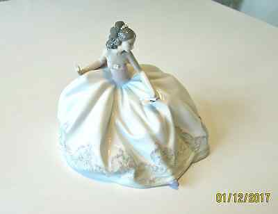 "Lladro #5859 ""At the Ball"" in  Original Box - Retired"