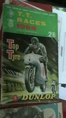 TT Races 1964 Official Guide and Programme