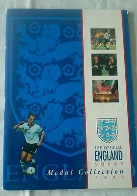 The Official England Squad Medal Collection 1996 Complete 22 Medals Euro 96