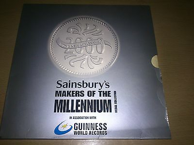 Sainsbury's Makers of The Millennium Medal Collection - 21 Medal Set