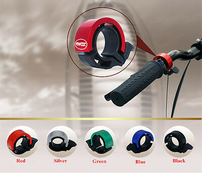 New Cycling Bike Bicycle Invisible Bell Aluminum Alloy Loud Sound Handlebar Horn