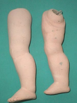 "doll legs for a compostion body 7  1/4""/replacement/Germany"