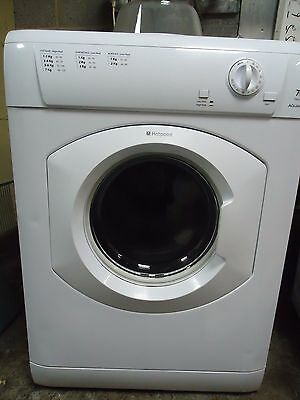 Hotpoint Tvm570 Full Size Vented Dryer With 7Kg Load  In White