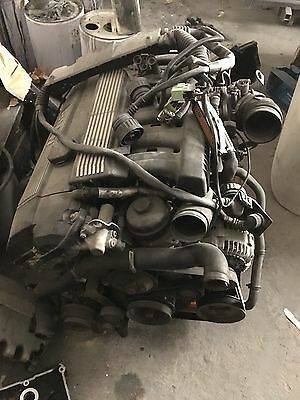 Bmw E36 323 With M50 2.5 Inlet Manifold Complete Engine Conversion