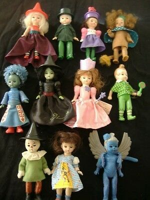 Lot of 11 Madame Alexander Wizard of Oz Dolls  6""