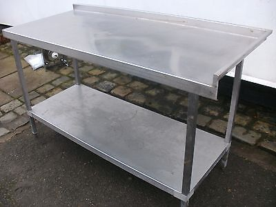 stainless steel table kitchen catering industrial cafe