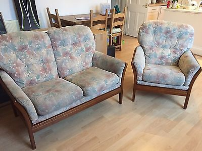 Cintique Suite: Two Seater Sofa And Armchair