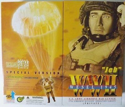 ACTION TOYS Dragon 12'' WWII US Army Airborne Bar Gunner ''JEB'' Special Version