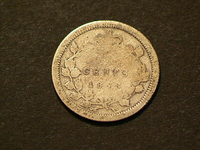 Canada 1858 5 Cents, Small Date Variety #3940