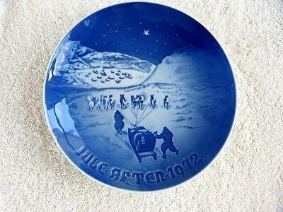 Bing & Grondahl B&G 1972 Christmas in Greenland Norway Plate