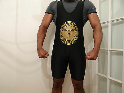 Powerstethics powerlifting singlet LARGE IPF spec SALE RRP £29.99 Wrestling