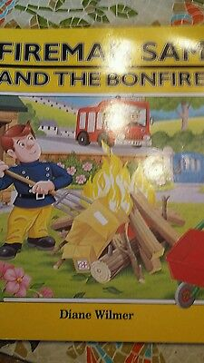 Fireman Sam and the Bonfire by Diane Wilmer. Paperback Book.