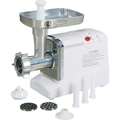 New Kitchener No.12 Electric Meat Grinder Sausage Stuffer With Tubes