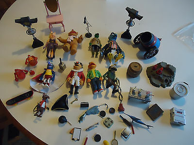 25 years muppets show Jim Henson action figure lot 10pc plus extras Palisades