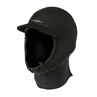 O'Neill Wetsuits Mens 3 mm Coldwater Hood, Black, XL, 45% Off, Free US Ship