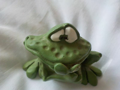"Collectable Frog By  ""kathleen Kelly "" Russ"