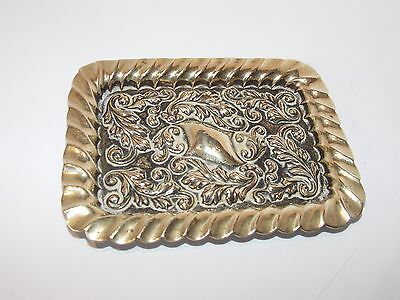 Vintage Silver plated pin tray 10x8cm