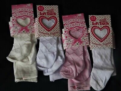 Baby Girl Patterned Tights  Various Sizes Hugely Popular
